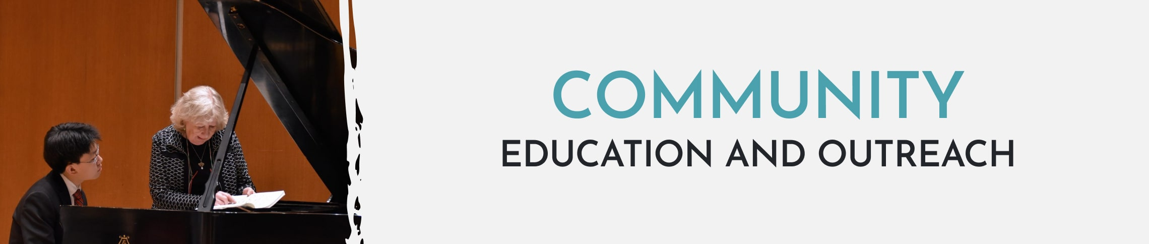 community education and outreach through competitions and events