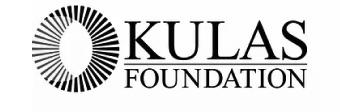 kulas foundation branding in black and white
