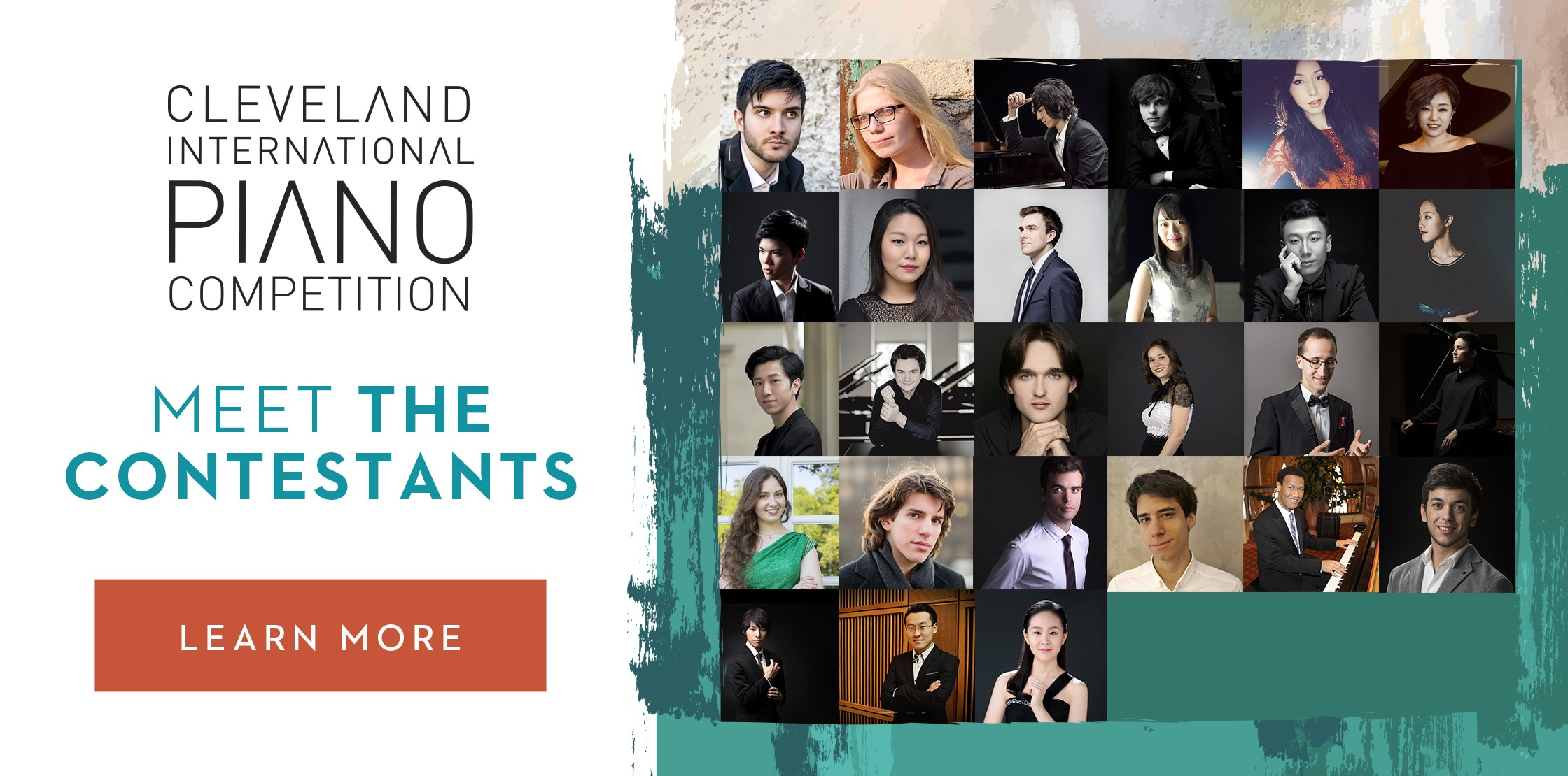 Cleveland International Piano Competition Contestants
