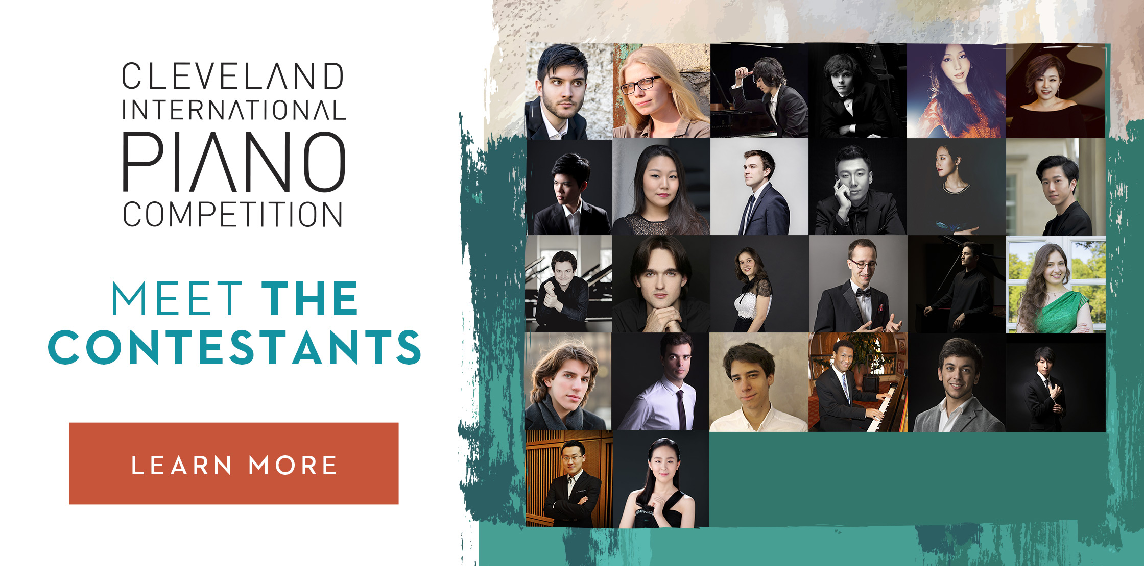 Cleveland International Piano Competition Meet the Contestants